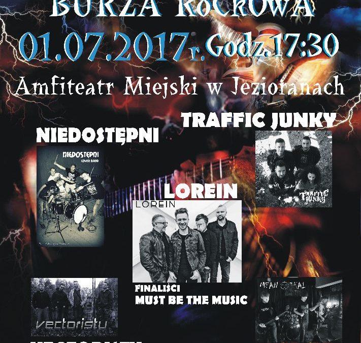 II JEZIORAŃSKA BURZA ROCKOWA