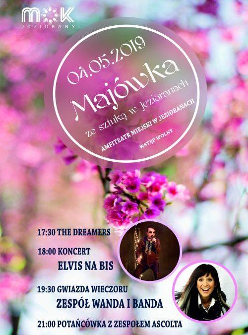 MAJÓWKA ZE SZTUKĄ W JEZIORANACH 04.05.2019