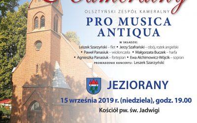Koncert kameralny 15.09.2019