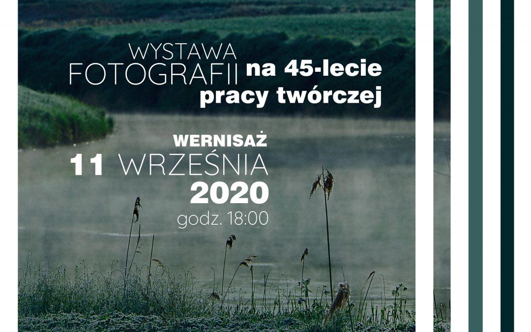"""""""WNĘTRZA KRAJOBRAZU"""" – wystawa fotografii Jacka Sztorca, od 11 do 25 września 2020 r."""