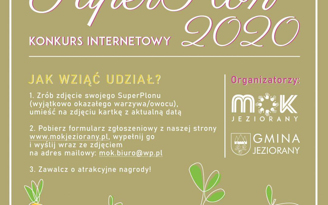 Konkurs online SuperPlon 2020