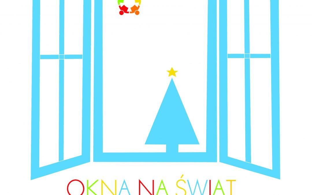 """""""Okna na świat"""" – świąteczna akcja w świetlicach wiejskich, listopad-grudzień 2020 r."""