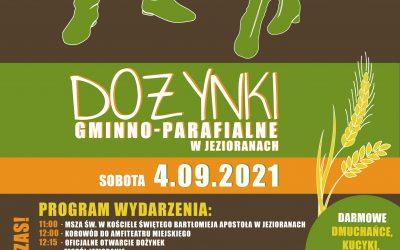 Gminno-Parafialne Dożynki w Jezioranach – 4.09.2021