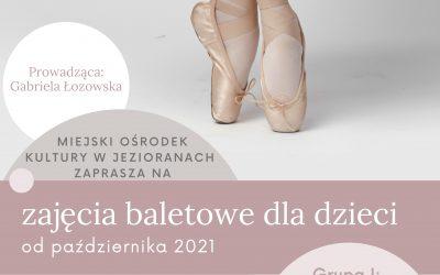 Zajęcia baletowe w MOK-u!